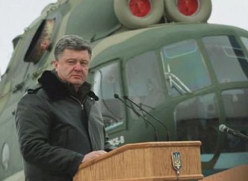 Poroschenko rüstet Militär auf
