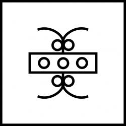 Geisteslehre-Symbol Freundschaft