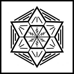 Geisteslehre-Symbol Gewalt