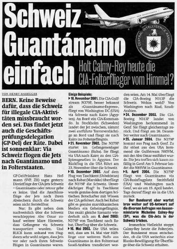 Schweiz Guantanamo einfach