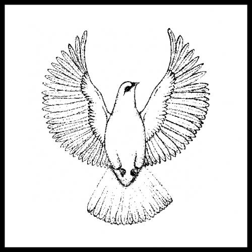 Geisteslehre-Symbol Emporschwebende Liebe