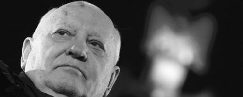 Michail Gorbatschow: dpa Michail Gorbatschow bei der Gedenkfeier zu 25 Jahren Mauerfall