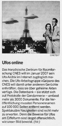 Neue Zürcher Zeitung, 31.12.2006
