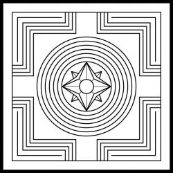 Geisteslehre-Symbol: Schöpfung